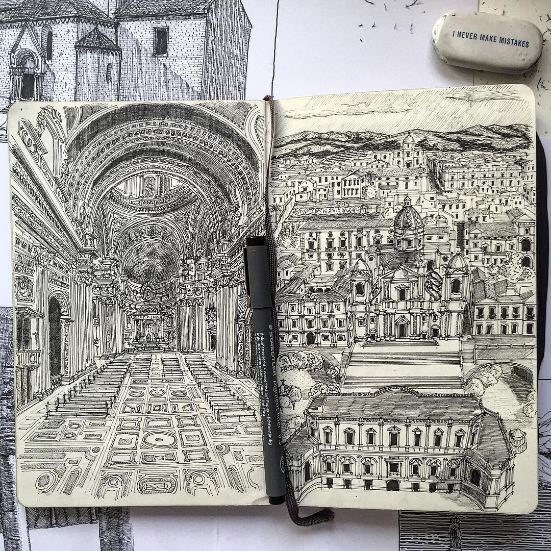 06-Moleskine-Francesco-Messina-Urban-Sketches-and-Architectural-Drawings-from-Italy-www-designstack-co