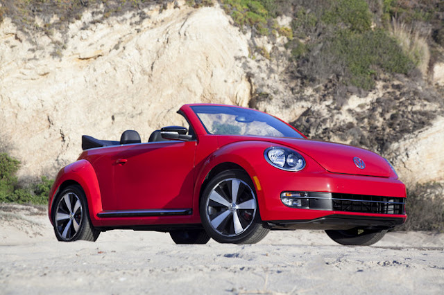 Volkswagen Beetle Cabrio Front Angel