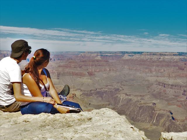 sunshine blogger award - grand canyon