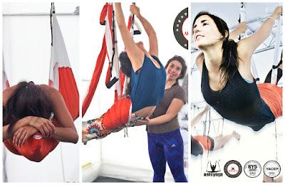yoga, columpio, hamaca, swing, trapeze, hamac, balançoire, acro