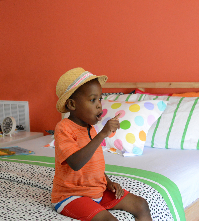 Colorful Kid's Room and Bedding