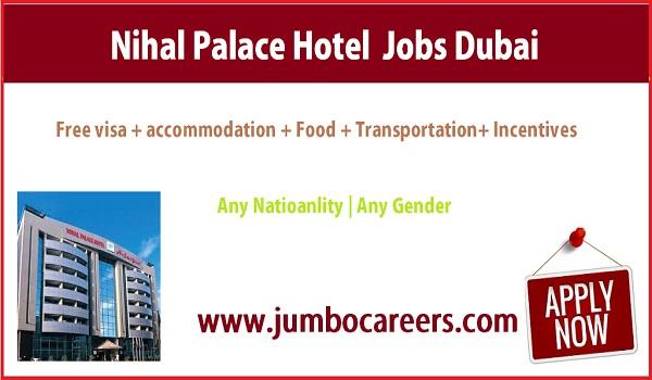 Latest walk in Interview jobs in Dubai, Dubai 3 star hotel salary,