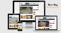 Micro Mag adalah template blogger yang bersih dan minimal untuk ulasan atau blog majalah.