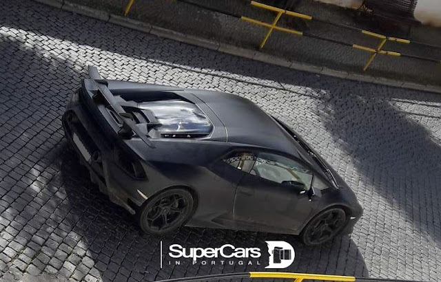 Lamborghini Huracan Performante Spotted Without Camouflage In Portugal