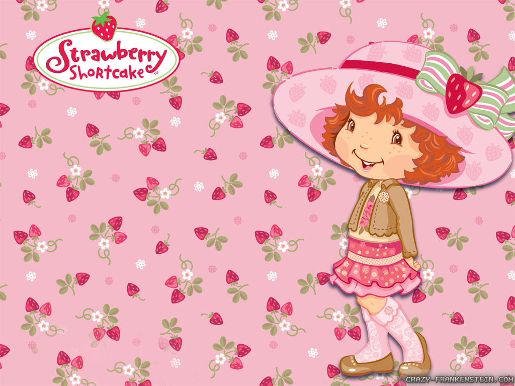 Strawberry Shortcake Cartoon Wallpaper