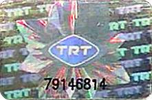 TRT Bandrol etiketi