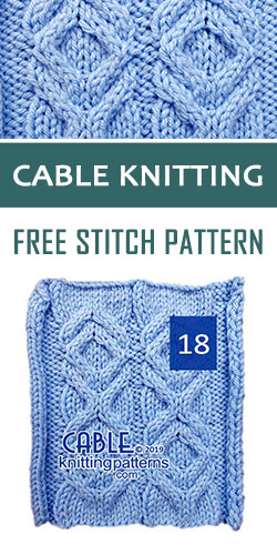 Cable Knitting Free Stitch Pattern 18