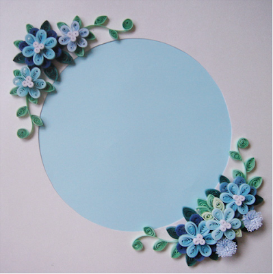 Tips to make quilling photo frame designs for gifts - quillingpaperdesigns