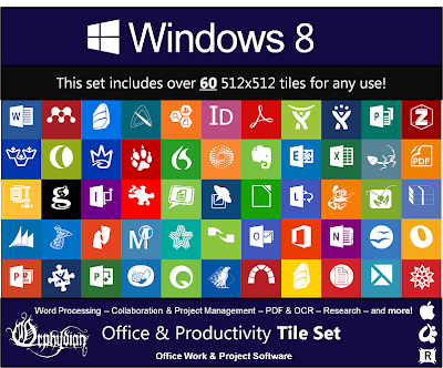 Windows 8 Modern Tile Set