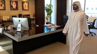 Inspeksi mendadak Sheikh Mohammed bin Rashid Al Maktoum