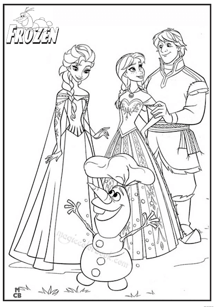 Frozen Coloring Games Online Free