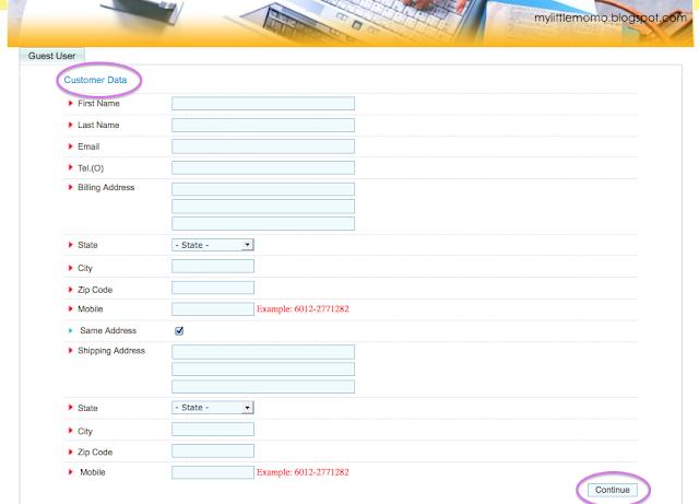 Panduan Pelanggan untuk Shaklee eSell