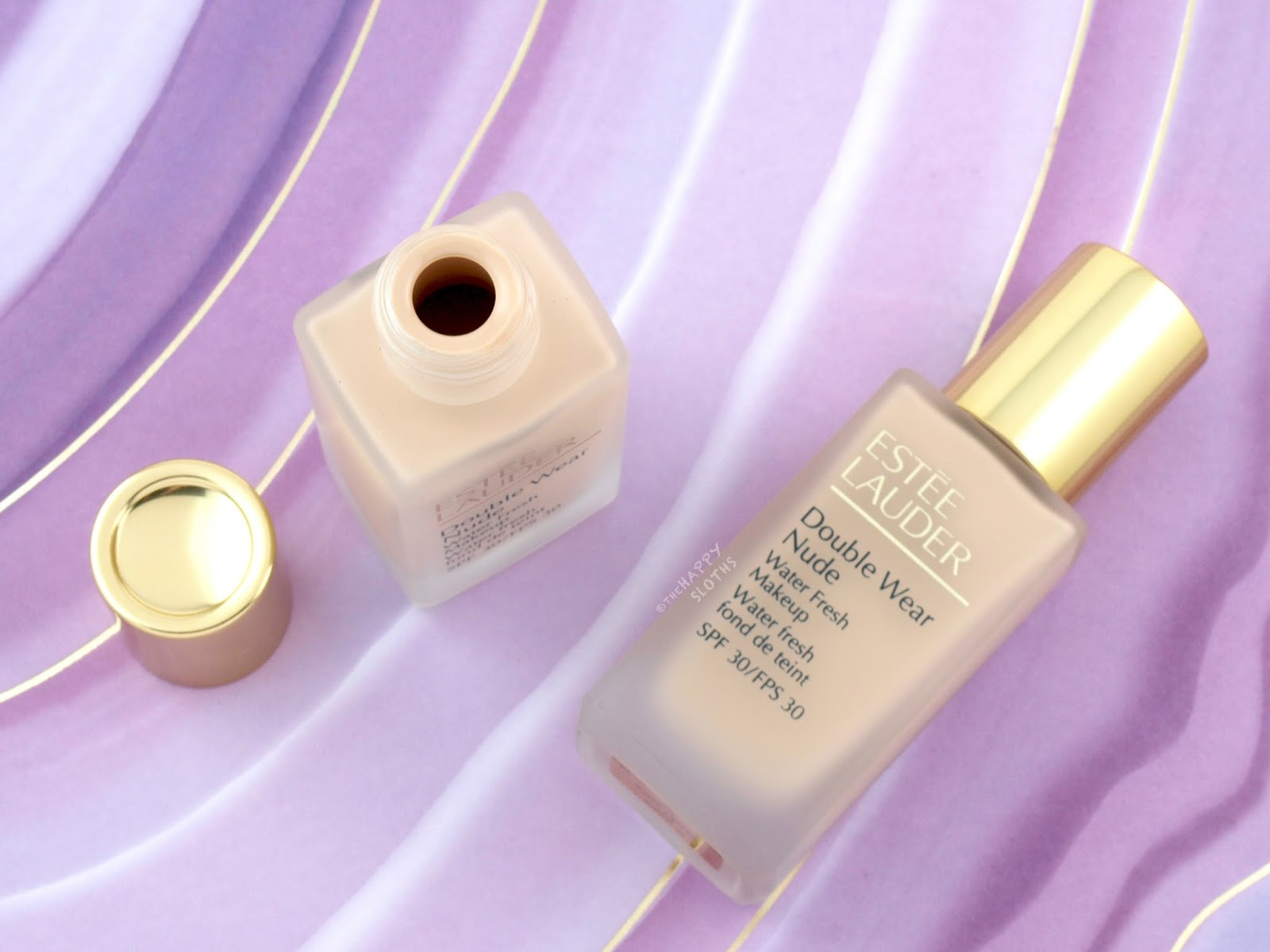 Estee Lauder Double Wear Nude Water Fresh Makeup: Review and Swatches