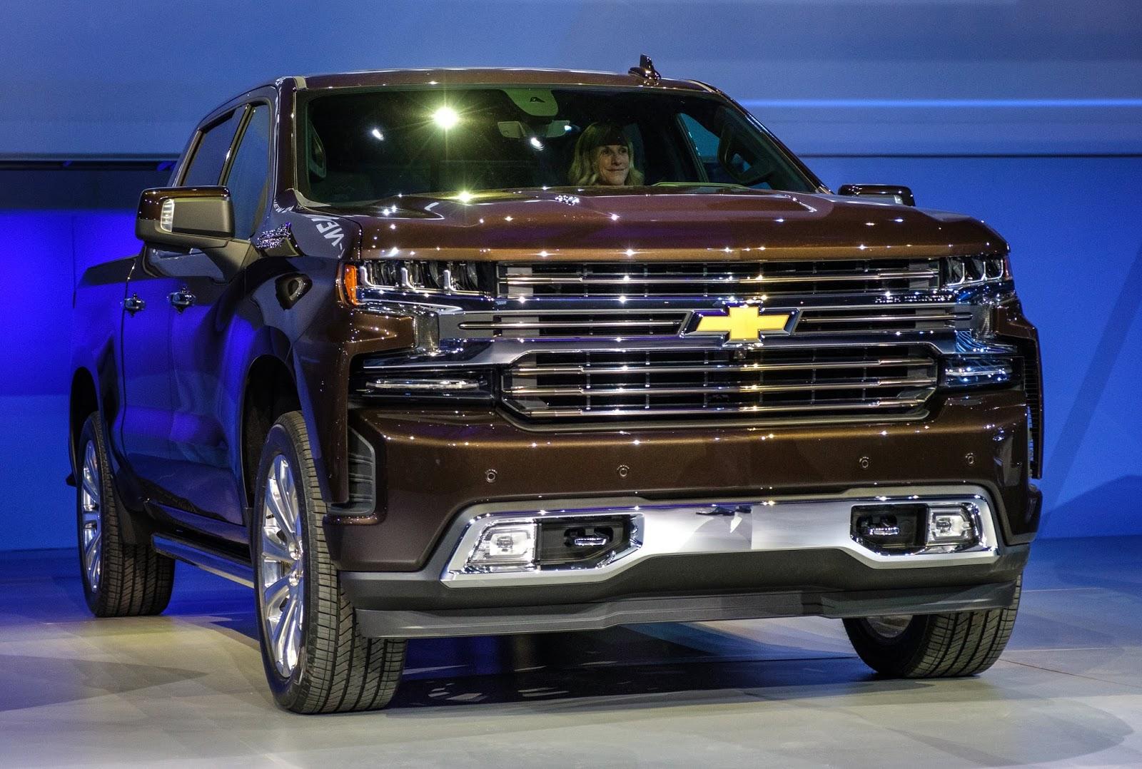 2019 Chevrolet Silverado, le diesel produit dans le Michigan
