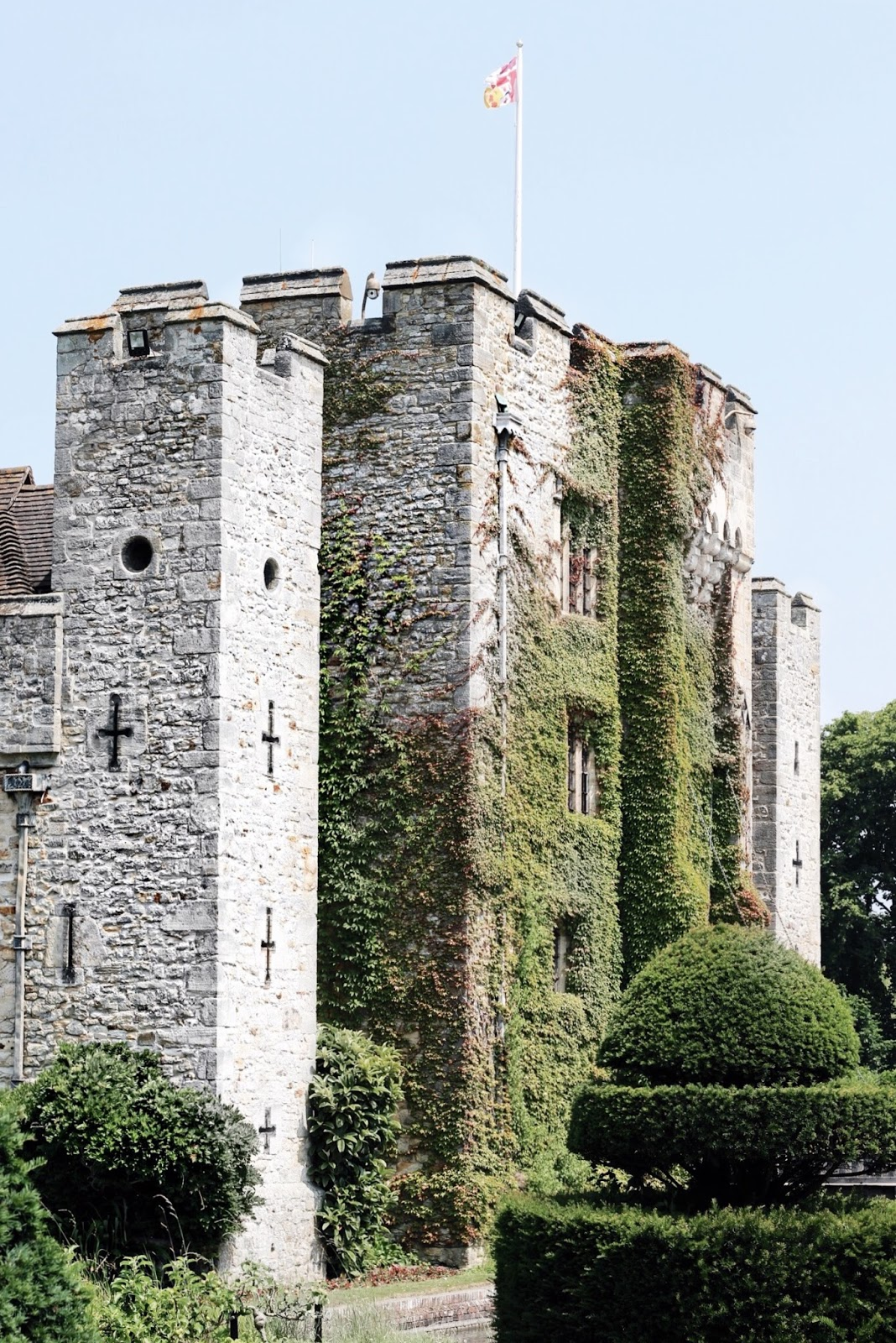 Hever Castle in summer
