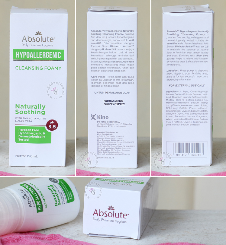 Absolute Hypoallergenic Cleansing Foamy Soothing