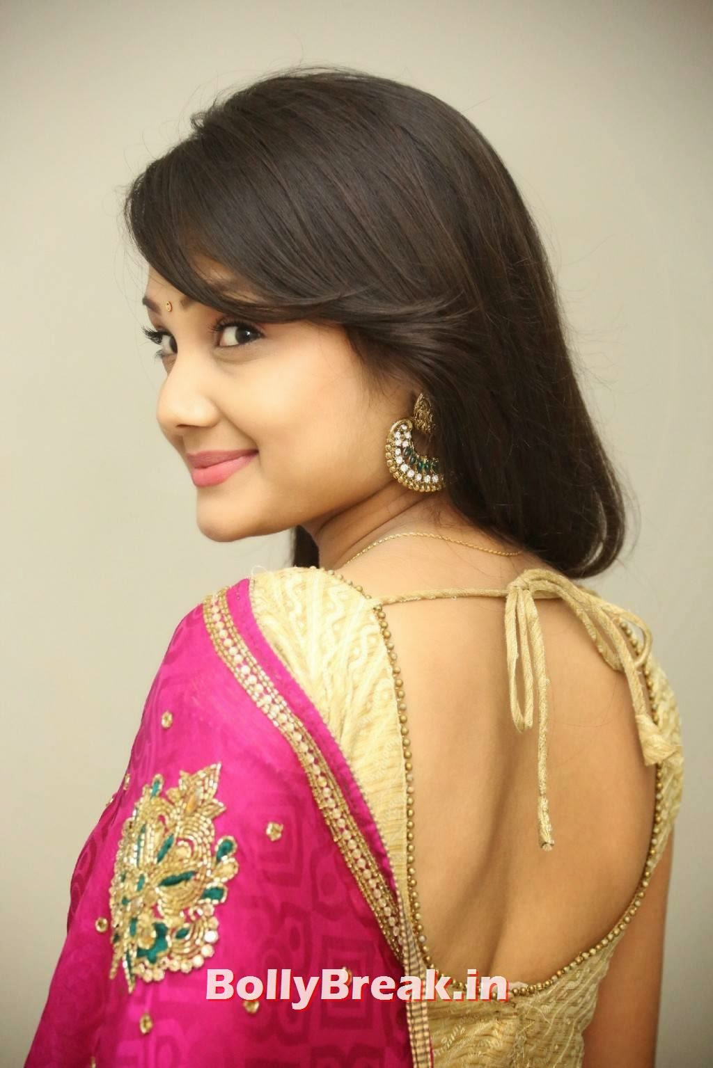 , Priyanka Photo gallery in Saree - 2014