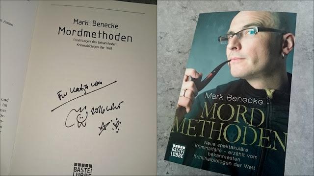 Autogramm Mark Benecke
