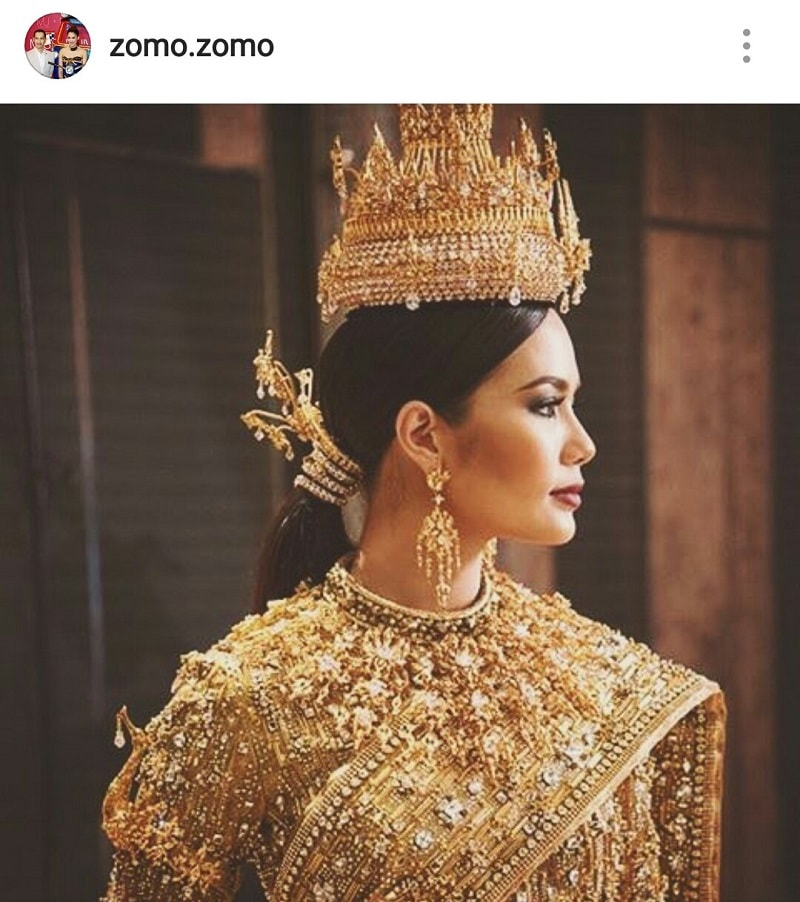 The Jewel of Thailand - National Costume for Chalita Suansane