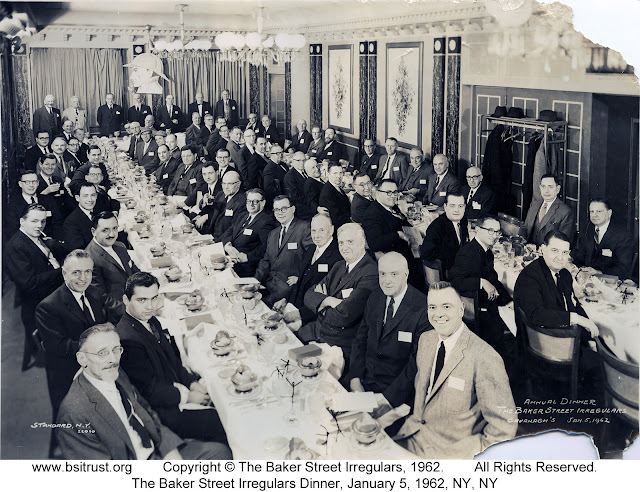 The 1962 BSI Dinner group photo