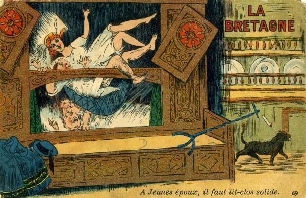 a l 39 aube du cr puscule carte postale de bretagne 8. Black Bedroom Furniture Sets. Home Design Ideas