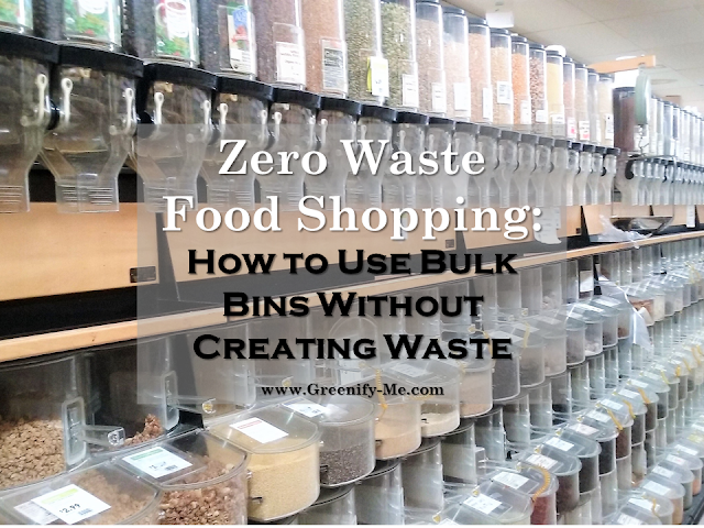 zero waste food shopping