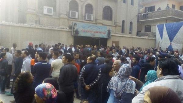 الصحة: ارتفاع حصيلة شهداء حادث كنيسة مارمينا في حلوان إلى 10 شهداء