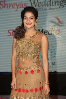 Jenny in brown transparent sleeveless anarkali dress at Shamanthakamani pre release function ~  Exclusive 027.JPG