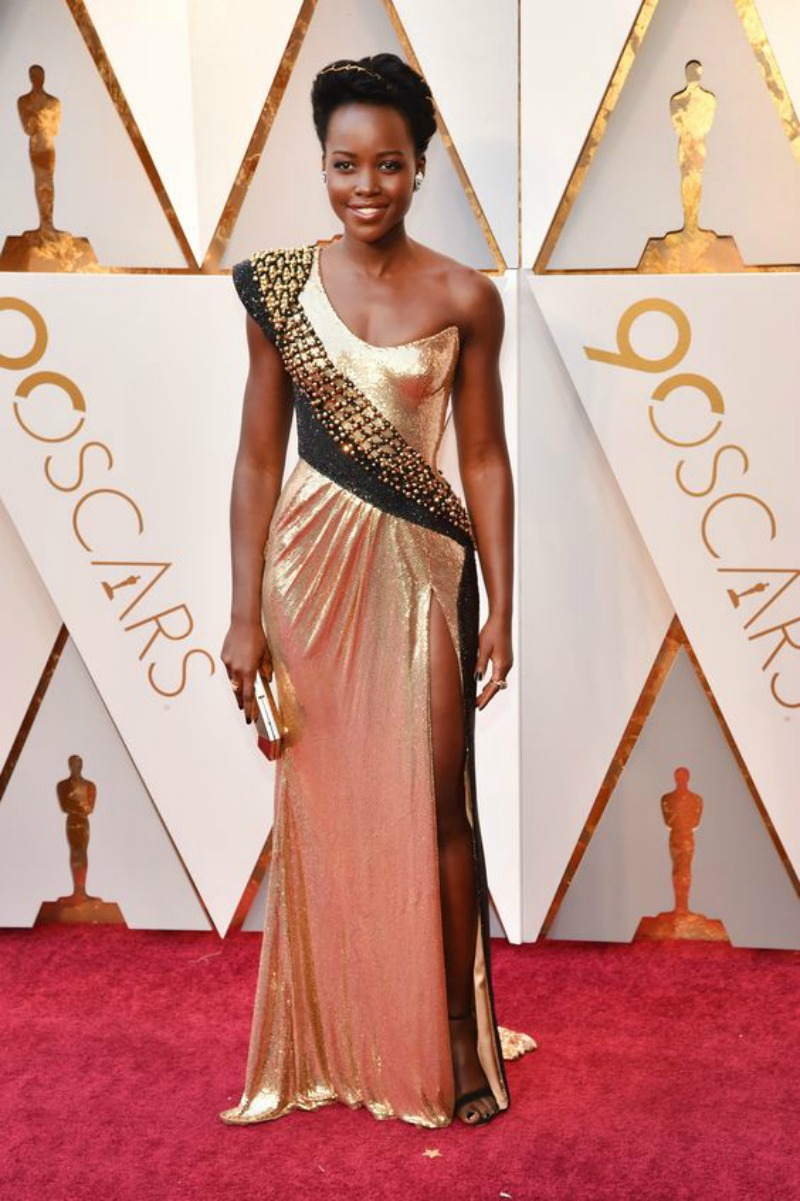 The best looks from the Oscars 2018 Lupita Nyongo'o