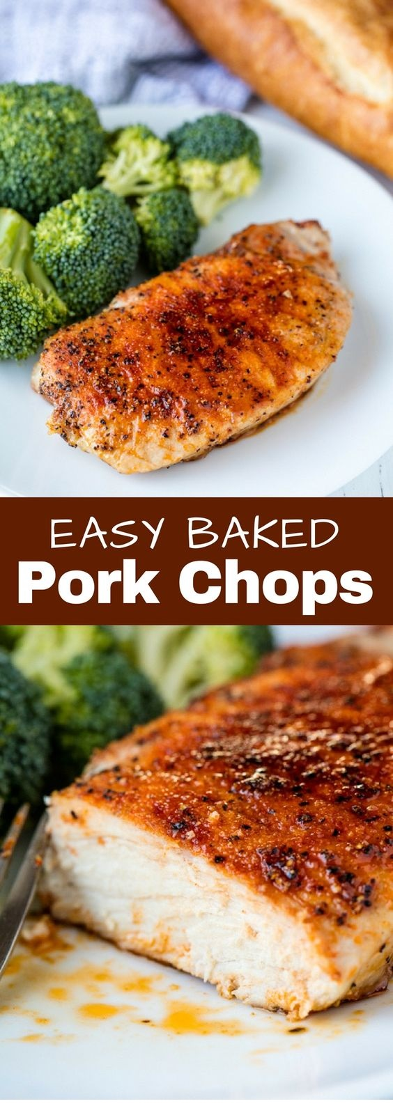 Easy Baked Pork Chops