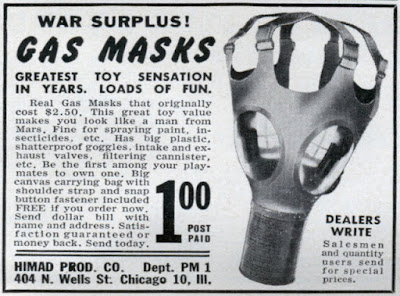 War Surplus Gas Masks