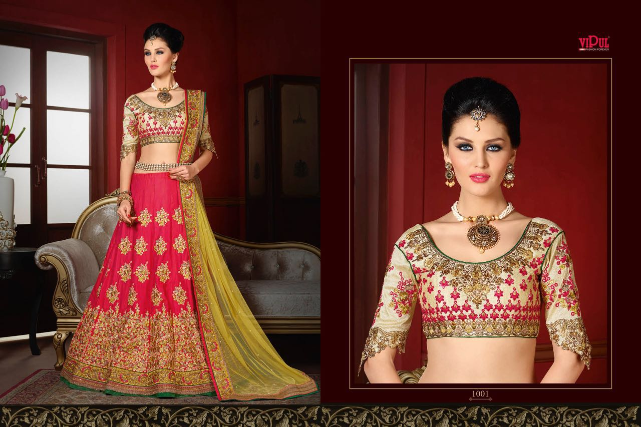 Vipul 1001 Series – New Collection Stylish And Fashionable Lehenga Choli
