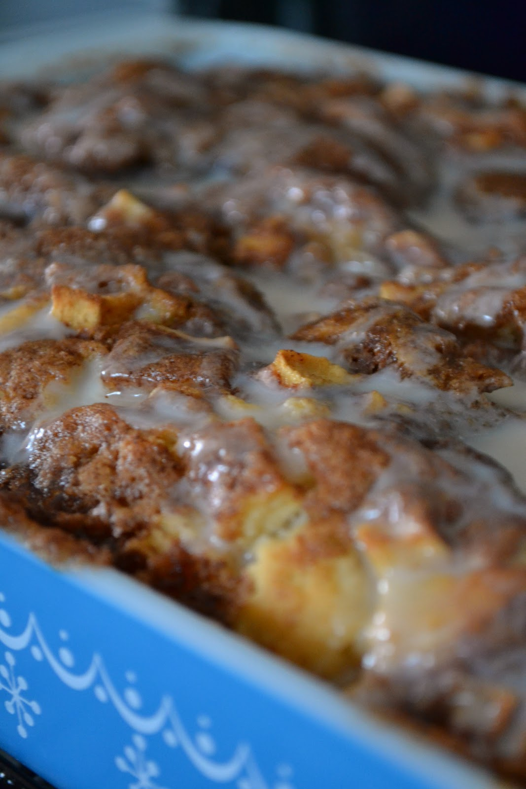 The Domestic Doozie Apple Fritter Cake