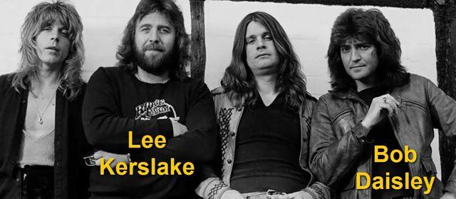 Banda de Ozzy Osbourne con Randy Rhoads