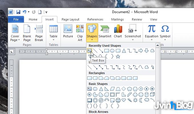 Cách xoay bảng trong Word hiệu quả (xoay ngang, dọc, chéo)