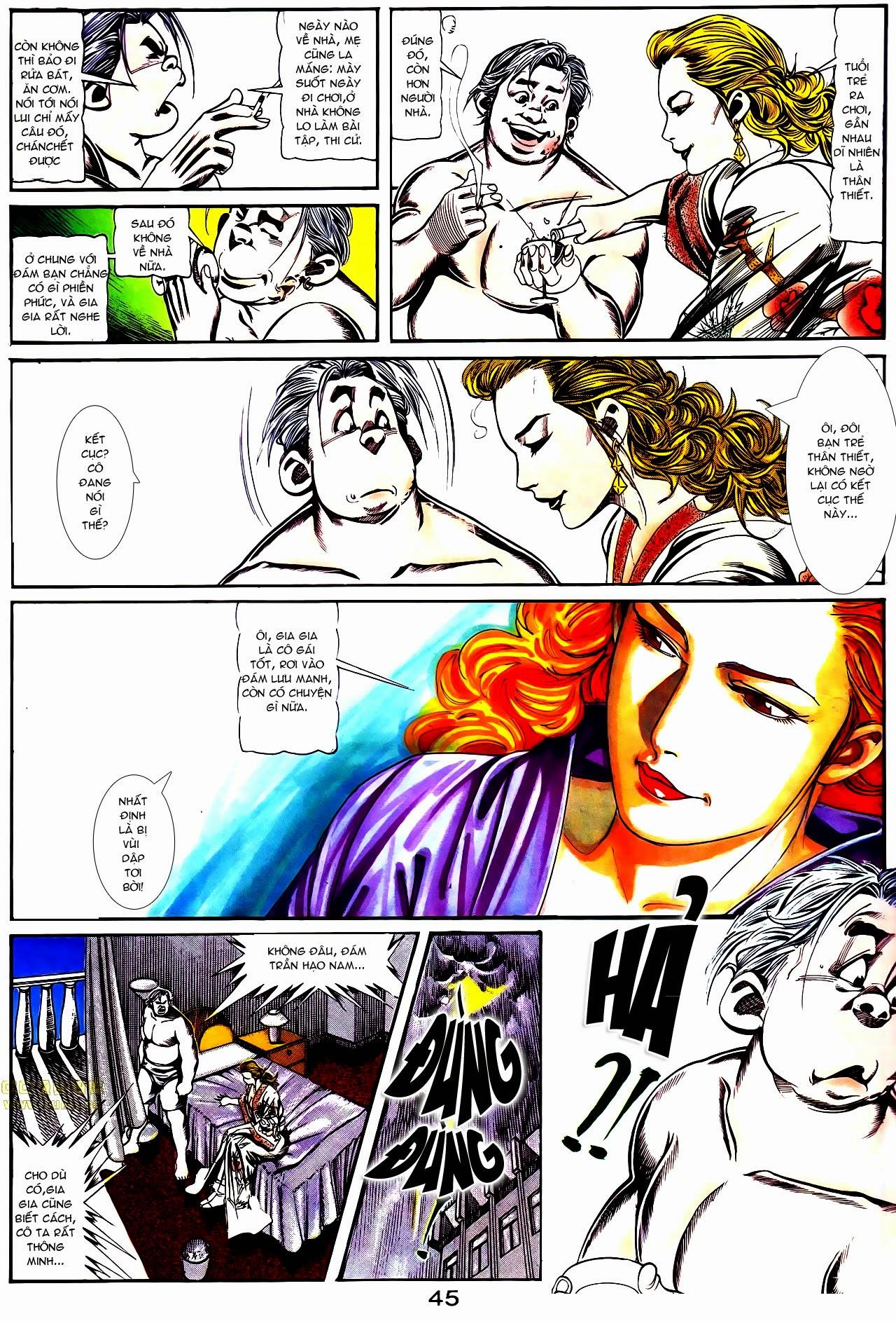 Người Trong Giang Hồ chapter 112: nhân sinh trang 16