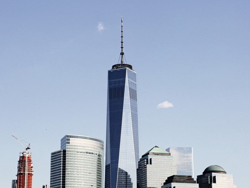 Download Manhattan High-rises HD wallpaper. Click Visit page Button for More Images.