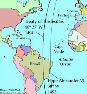 Isi Perjanjian Tordesillas