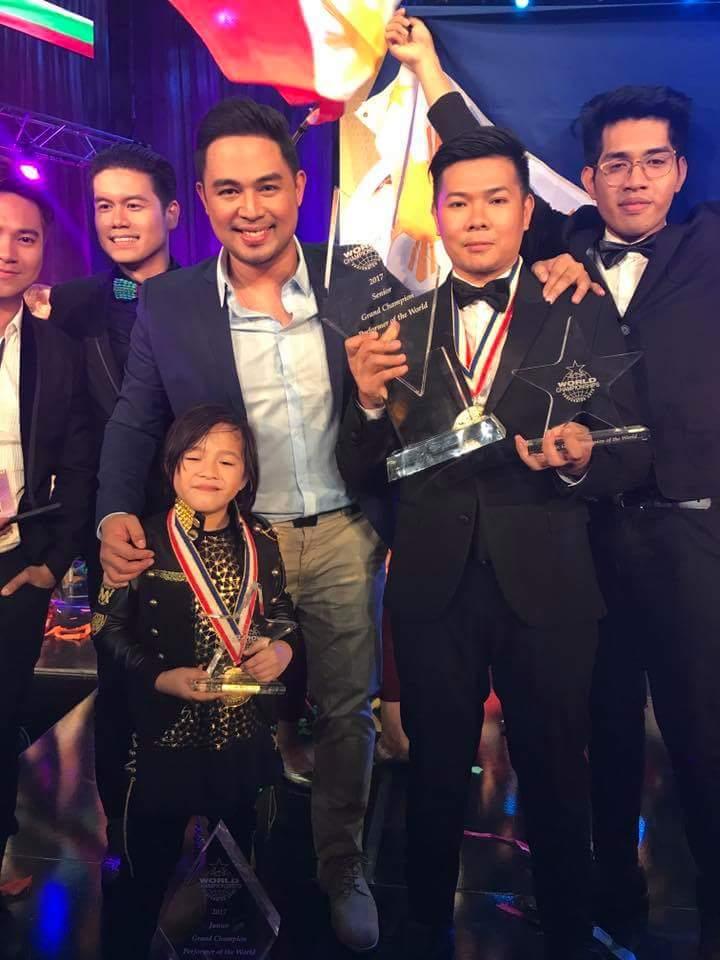 WCOPA 2017 winners