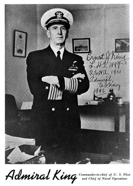 Admiral Ernest J. King becomes commander of the US Fleet on 30 December 1941 worldwartwo.filminspector.com