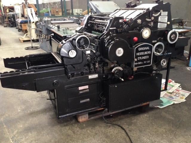 Impressora tipográfica