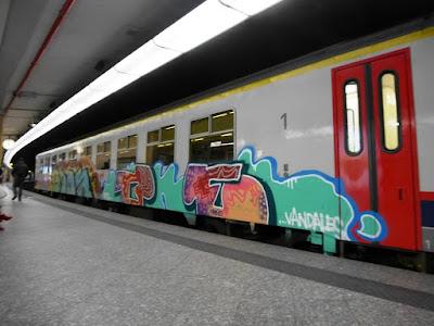 graffiti vandales