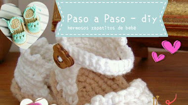 Zapatitos de bebé al crochet - diy