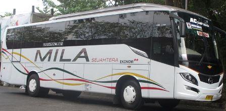 Harga Tiket Bus Mila Sejahtera E Transportasi Com