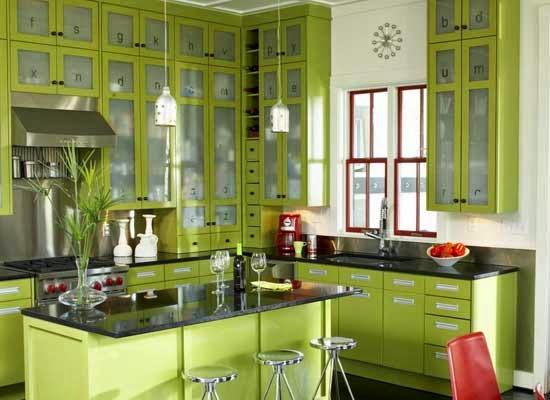 13 Desain Dapur Minimalis Warna Hijau Blog Rumah