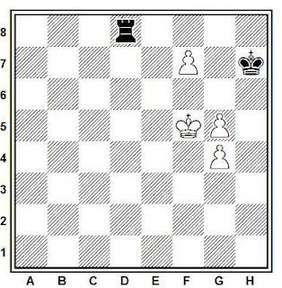Problema ejercicio de ajedrez número 835: Estudio de L. Prokes (Tijdschrift KNSB, 1948)
