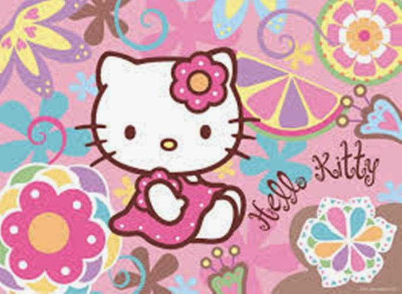 Gambar hello kitty pink cute banget wallpaper gratis