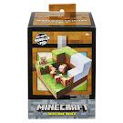 Minecraft Pig Environment Sets Figure