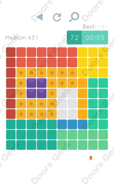 Cheats, Walkthrough for Blocks and Shapes Medium Level 431