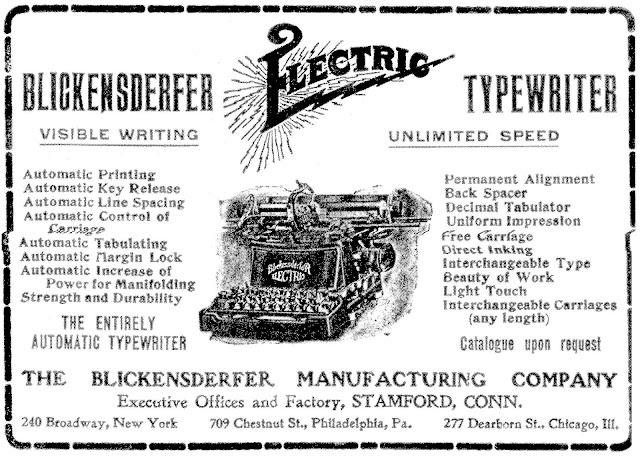 oz.Typewriter: Future Shock: How Blickensderfer Developed